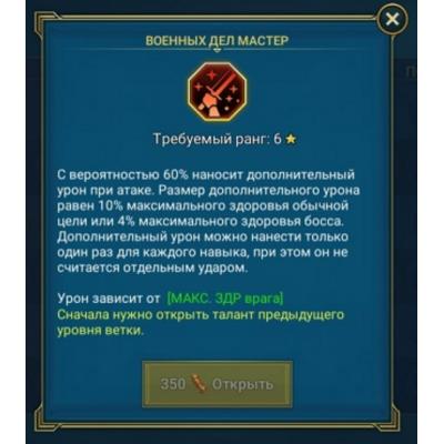 Военных дел мастер (ВДМ)